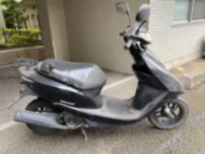 千葉市稲毛区稲毛町で原付バイクのホンダ Dio FIを無料引き取り処分と廃車手続き代行