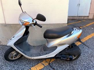 三郷市で無料で引き取り処分と廃車手続き代行をした原付バイクのホンダ ライブDio S スペシャル スペシャル