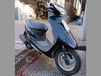 江東区で無料で引き取り処分と廃車手続き代行をした原付バイクのヤマハ JOG(BB-SA16J)