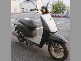 群馬県太田市で無料で引き取り処分と廃車手続き代行をした原付バイクのホンダ トゥデイ(BA-AF61)