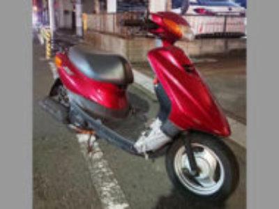大田区南六郷で原付バイクのヤマハ JOG FI(JBH-SA36J)を無料で引き取り処分と廃車手続き代行