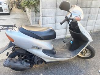 千葉市若葉区で無料で引き取り処分と廃車手続き代行をした原付バイクのホンダ ライブDio S SPECIAL