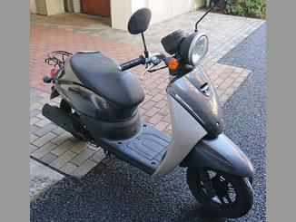 東京都目黒区で無料で引き取り処分と廃車手続き代行をした原付バイクのホンダ トゥデイ F