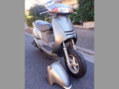 板橋区で原付バイクのホンダ リード100 プレシャスグレイメタリックを無料引き取り処分と廃車手続き代行