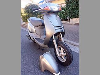 板橋区で無料で引き取り処分と廃車手続き代行をした原付二種バイクのホンダ リード100