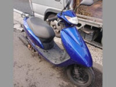 横浜市鶴見区で原付バイクのホンダ Dio FI(JBH-AF68)を無料引き取り処分と廃車手続き代行