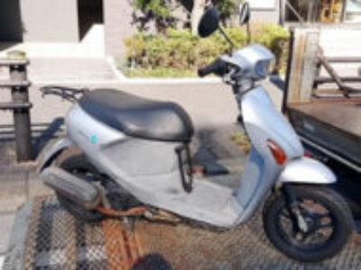 横浜市戸塚区上倉田町で原付バイクのスズキ レッツ4Gを無料引き取り処分と廃車手続き代行