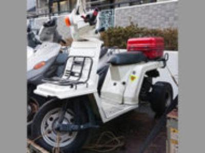 東京都多摩市で原付バイクのホンダ ジャイロX リアボックス付きを無料引き取り処分と廃車手続き代行