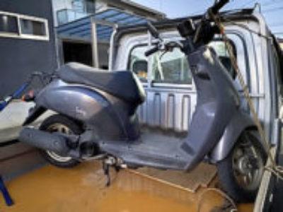 つくばみらい市で原付バイクのホンダ トゥデイ(BA-AF61)を無料引き取り処分と廃車手続き代行