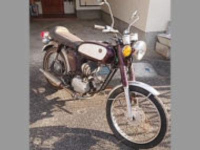 市原市で原付バイクのヤマハ YB-1 ミヤビマルーン×クリームを無料で引き取り処分と廃車