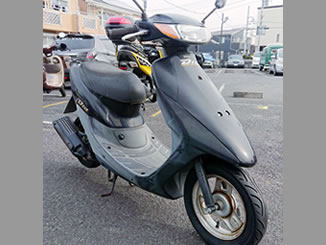 埼玉県草加市で無料で引き取り処分と廃車手続き代行をした原付バイクのホンダ ライブDio J