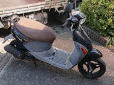 練馬区南大泉にある原付バイクのスズキ レッツ4Gを無料引き取り処分と廃車手続き代行