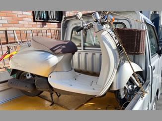 世田谷区下馬で無料で引き取り処分と廃車手続き代行をした原付バイクのホンダ ジョルノクレア DX