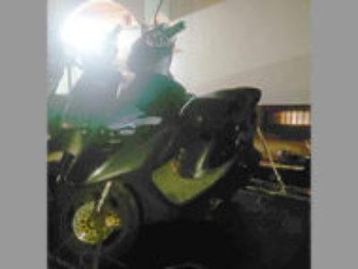 静岡県三島市にある原付バイクのホンダ スーパーDio ZX ブラック色を無料で引き取り処分