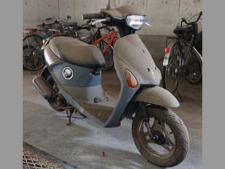 神奈川県相模原市中央区で無料で引き取り処分と廃車手続きをしたに原付バイクのスズキ レッツ4