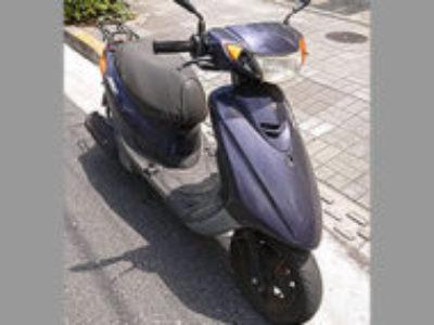 江戸川区にある原付バイクのヤマハ JOG DXを無料で回収処分と廃車手続き代行